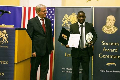 Kofi Anokye receives award