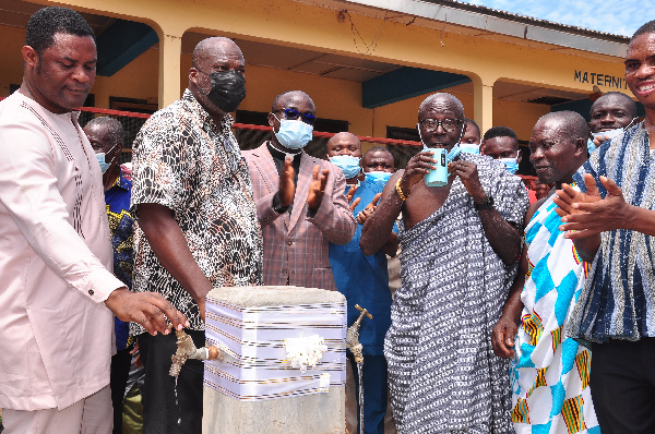 Afriwave Telecom provides quality water for the people of Ekye-Amanfrom