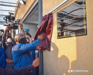Vice president Dr. Mahamudu Bawumia commissions Ghana Infectious Disease Centre