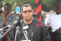 NDC flagbearer aspirant, Goosie Tanoh