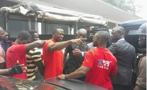 File photo: All the suspects are in the custody of the Ashanti Regional Police Command