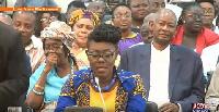 Ursula Owusu is Minister-designate for Communications