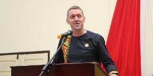 Iain Walker, UK High Commissioner to Ghana