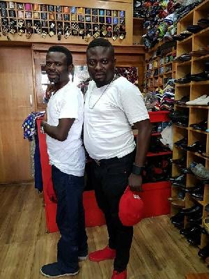 L-R: Prophet Seth Frimpong with Brother Sammy