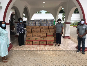 The donation is valued at GHC2.4 million