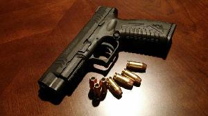 File photo: Gun