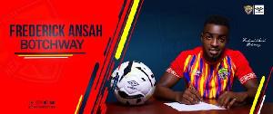 Accra Hearts of Oak midfielder, Frederick Ansah Botchway