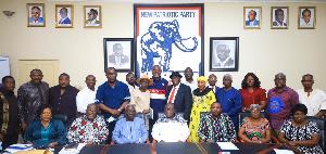 Npp Executives Osafo Maafo Committee