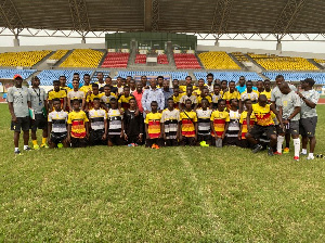 Coach Ben Fokuo and his side have been in Cape Coast for the past 2 weeks