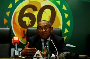 CAF president, Ahmad Ahmad