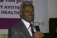 CEO of Mental Health Authority, Dr. Akwasi Osei