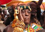 Nana Kwame Akuoko Sarpong recieves Proclamation and Doctorate on 82nd birthday
