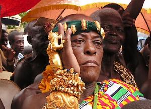 Nana Akuoko Sarpong, Omanhene of the Agogo Traditional Area