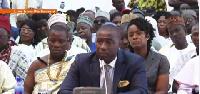 Deputy Water Resources and Sanitation Minister,  Patrick Boamah
