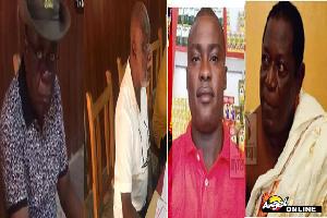Henry Asumadu, Kwame Brenya, Charles Asabere and Norman Owusu Barnie