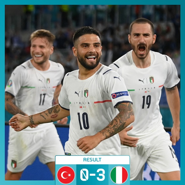 Italy unsung as Azzurri lay marker in Euro 2020 opener