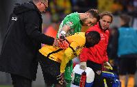 Ghanaian midfielder Erich Berko