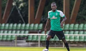 Osabutey netted five times in twenty-two games last season