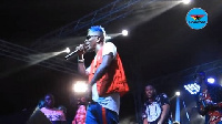 Shatta Wale performed several of his hit songs at the maiden edition of 'Untamed Energy Concert'