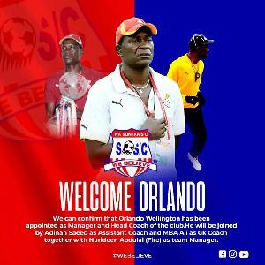 Coach Orlando Wellington