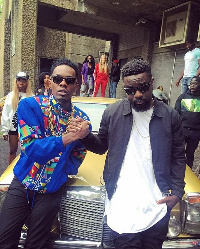 Patoranking and Sarkodie collaborated on 'No Kissing'