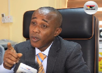Head of Payment Systems department, Bank of Ghana, Dr. Settor Amediku