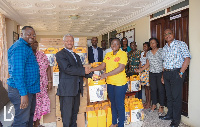 Presentation of electronic equipment to partners to boost QualityRights e-training