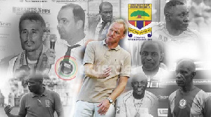 Hearts have sacked nine coaches in six years.