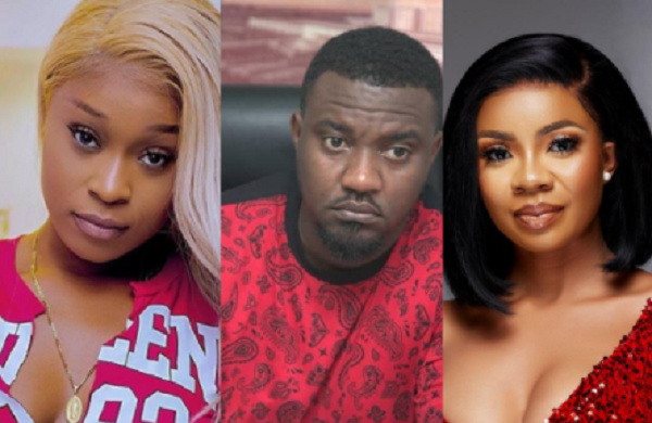 Efia Odo, John Dumelo and Serwaa Amihere have joined in the #Fixthecountry trend on social media