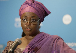 Former Petroleum Minister, Mrs. Diezani Alison-Madueke