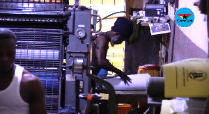 Election season happens to be a good year for the printing press business
