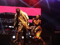 Cabum on stage