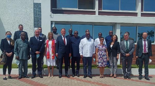 EU Ambassadors pay courtesy call on John Mahama