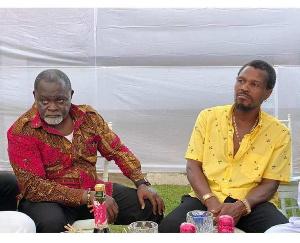 Azumah Nelson and Ike Bazooka Quartey