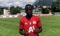 Ghana winger Edwin Gyasi