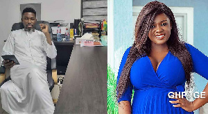 A Plus and Tracey Boakye had allegedly had a sexual relationship ten years ago