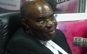 Former Attorney General and Minister of Justice, Ayikoi Otoo