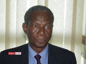 Economist Kwame Pianim, a stalwart of the governing New Patriotic Party