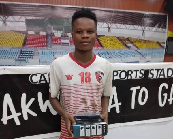 WAFA SC teen Lawrence Agyekum bags MoTM gong in defeat against Elmina Sharks