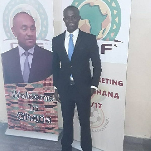 FIFA referee Nathan Anafo