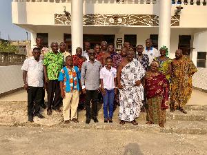 Stakeholders in Sekondi, Takoradi in a group picture with members of Karpowership