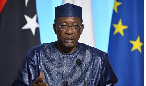Chadian president Idris Deby Itno