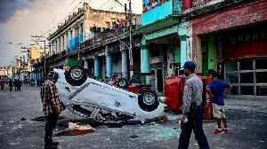 Zanga-zanga: Gwamnati ta mika wuya a Cuba