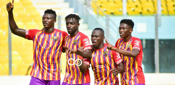 Hearts of Oak beat 10-man WAFA SC 4-0