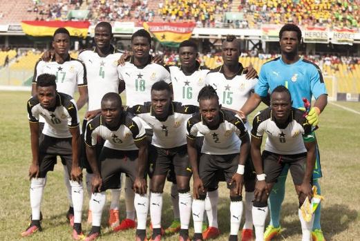 Black Stars trail Egypt by five points