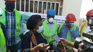 Sanitation and Water Resources minister, Cecilia Abena Dapaah