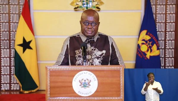Fellow Ghanaians, school or no school? – Ghanaians project Akufo-Addo's address