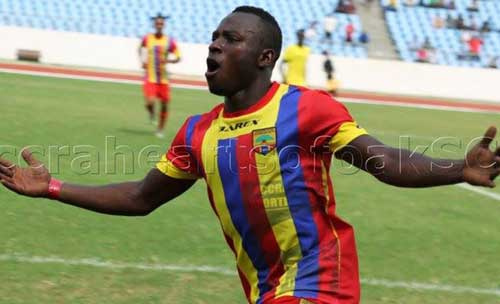 Patrick Razak inching closer to Hearts of Oak return