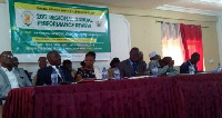 Health officials at the 2017 Regional Annual Performance Review in Kumasi