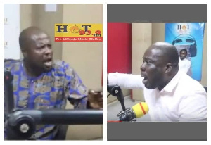 The two communicators were speaking on Hot FM